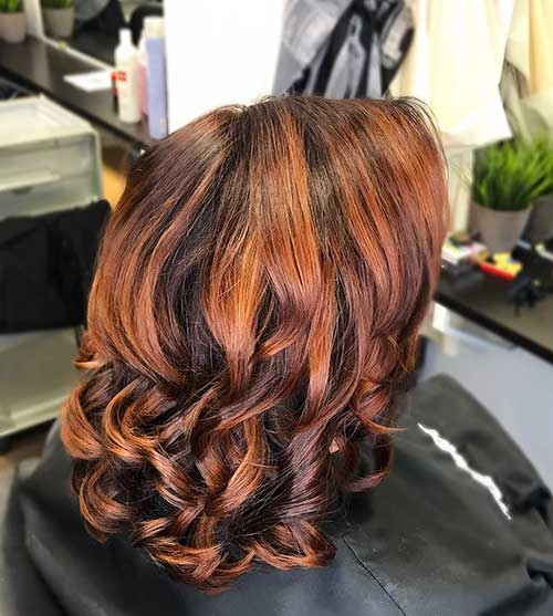 New Eye Catching Short Curly Hairstyles for Women  Short