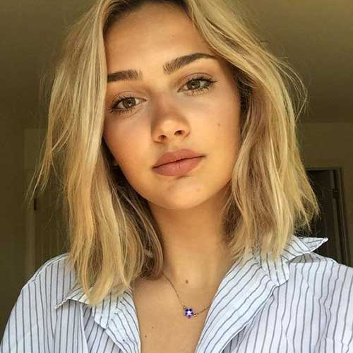 Gorgeous Short Hairstyles for Round Face Shape  The Best