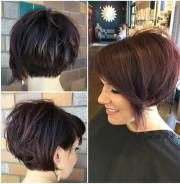 unique short hairstyles thick