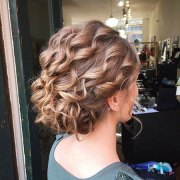updo hairstyles short curly