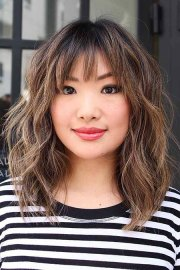 latest bob hairstyles with bangs