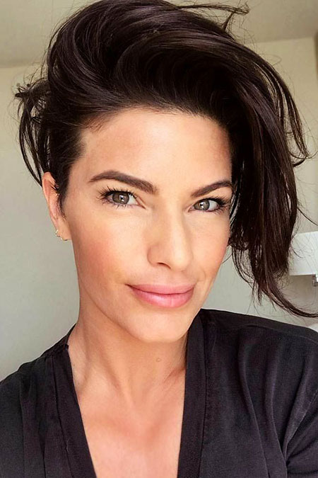 20 Short Edgy Hairstyles For Thick Hair Short Hairstyles