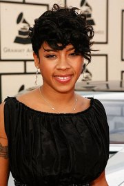 keyshia cole short hairstyles