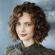 stylish curly bob hairstyles