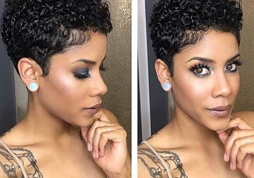 Hairstyles For Short Natural Curly Hair - hairstyles for short natural curly hair 2