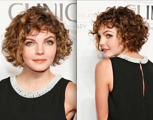 Short and Curly Hairstyles 2017