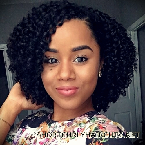 +40 Trend Natural Hairstyles for Short Hair - natural hairstyles short hair 23