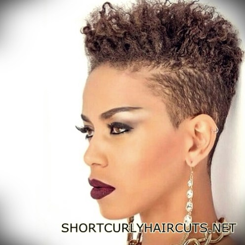 40 Trend Natural Hairstyles for Short Hair - Short and Curly Haircuts