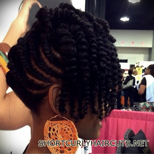 +40 Trend Natural Hairstyles for Short Hair - natural hairstyles short hair 25