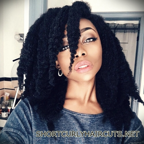 +40 Trend Natural Hairstyles for Short Hair - natural hairstyles short hair 26