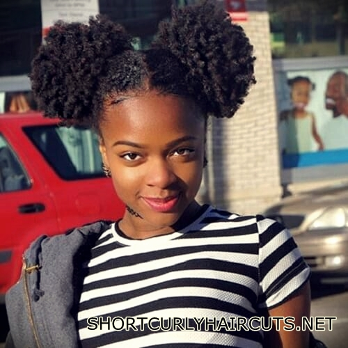 +40 Trend Natural Hairstyles for Short Hair - natural hairstyles short hair 4