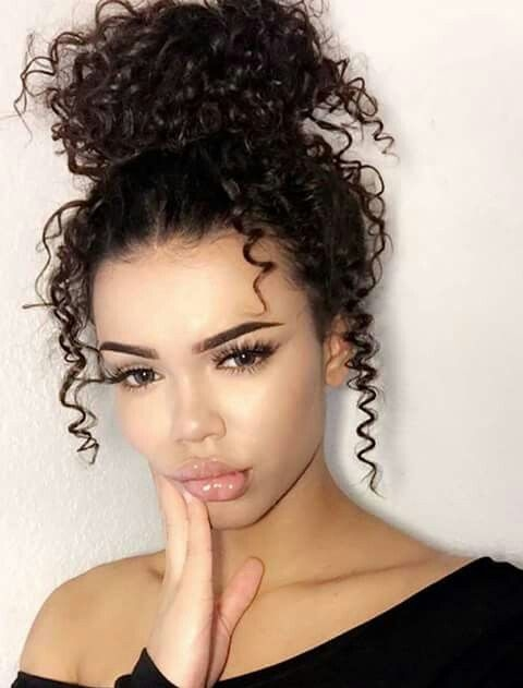 Quıck Hairstyles For Curly Hair