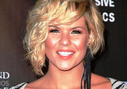 +30 Best Short Blonde Curly Hair - short blonde curly hair 9