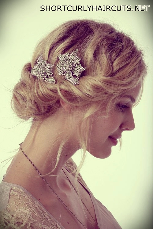 Short Curly Hairstyles For A Wedding Short And Curly Haircuts
