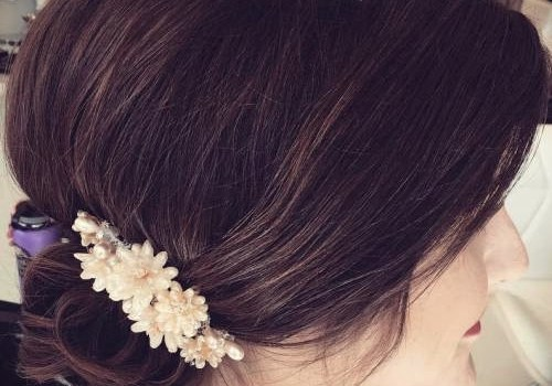 Short Curly Hairstyles for a Wedding - short curly hairstyles wedding 29