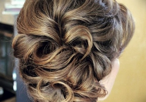 Short Curly Hairstyles for a Wedding - short curly hairstyles wedding 30