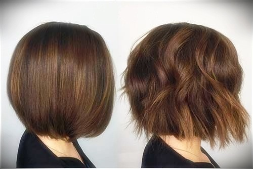 +25 Best Short Hairstyles for Thick Wavy Hair - short hairstyles for thick wavy hair26