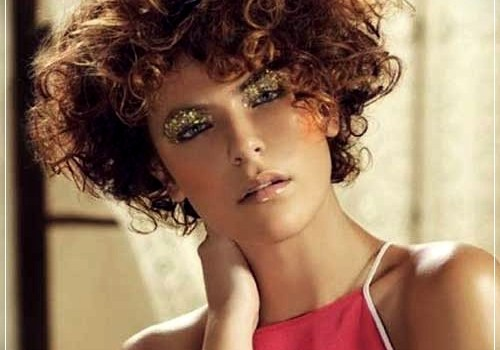 Top 20 Female Short Curly Hairstyles - female short curly hairstyles 1