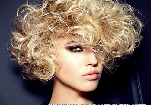 Top 20 Female Short Curly Hairstyles - female short curly hairstyles 4