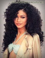 Amazing Layered Hairstyles for Curly Hair - layered hairstyles curly hair 6