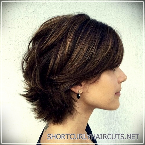short haircuts for thick hair 16 - 6 Alluring Short Haircuts For Thick Hair