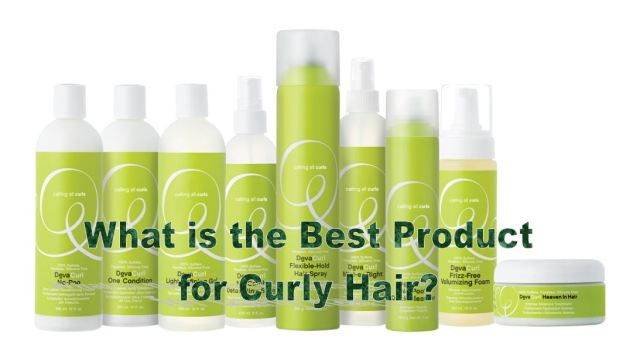 What are the Best Products for Curly Hair