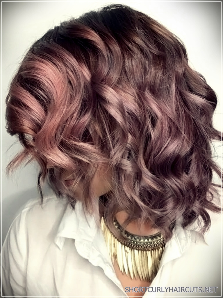 Gorgeous Hair Colors For Short Hair 8 Short And Curly Haircuts
