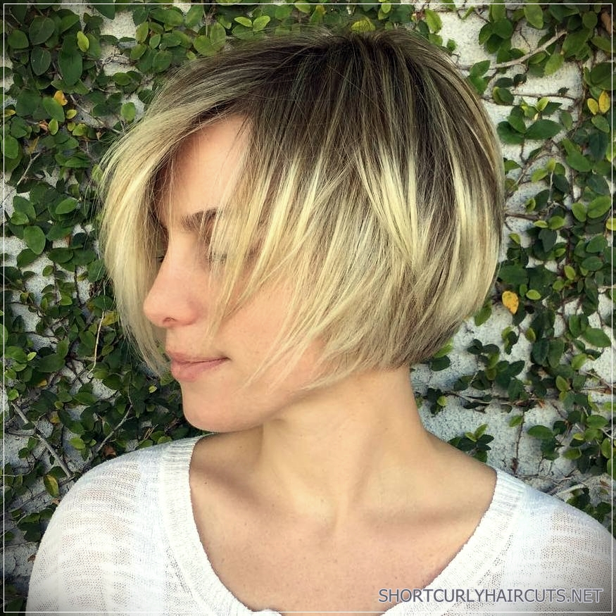 Long Choppy Bob Hairstyles Brunettes And Blondes 1 Short And Curly