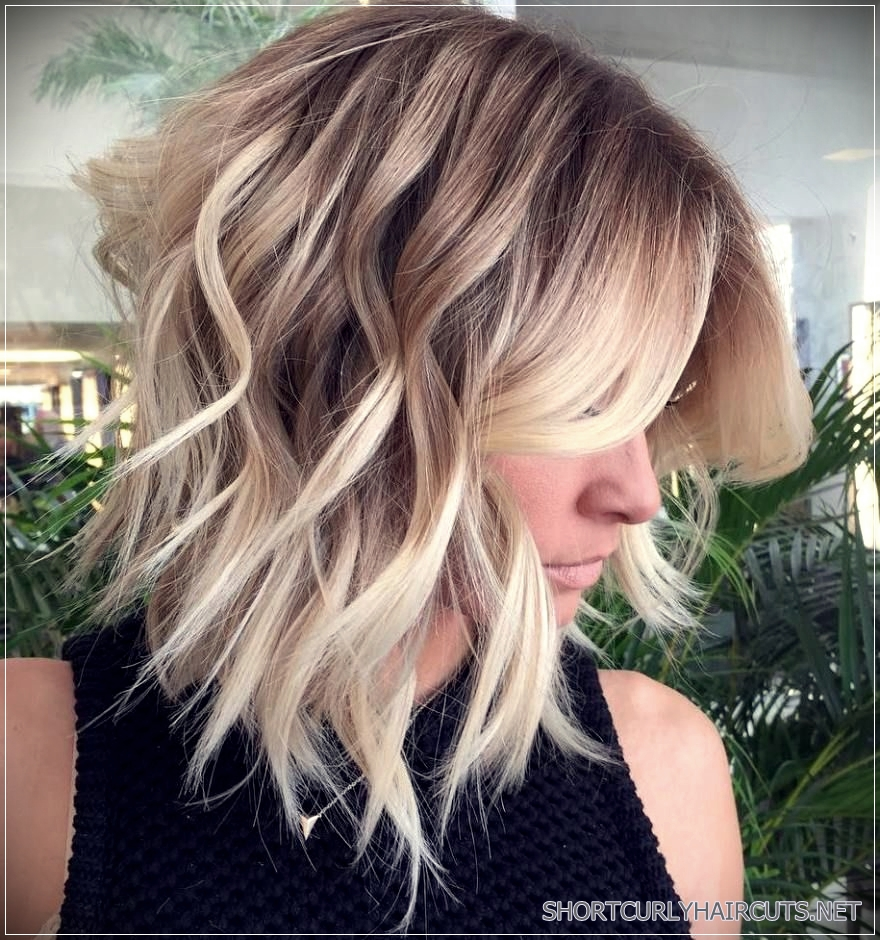 Long Choppy Bob Hairstyles Brunettes And Blondes 14 Short And