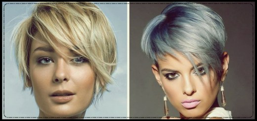 latest fashionable short hairstyles 2018