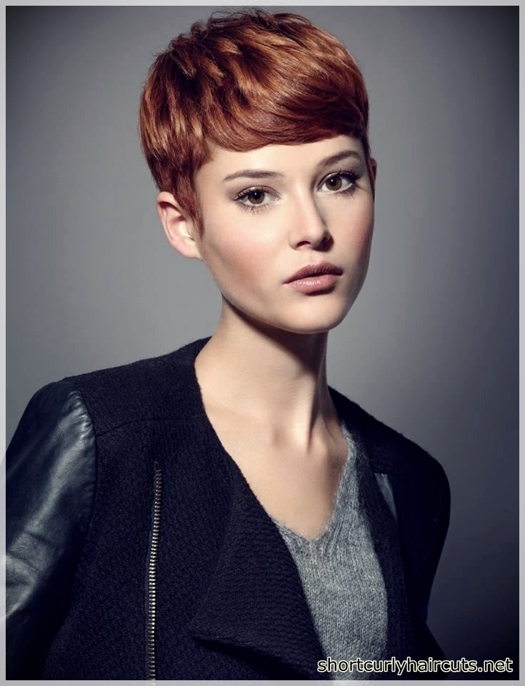 Pixie Haircuts For Round Faces 25 Short And Curly Haircuts