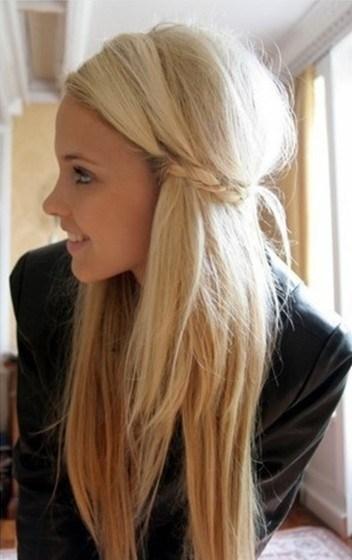 cute hairstyles for straight hair 4 - Cute Hairstyles for Straight Hair