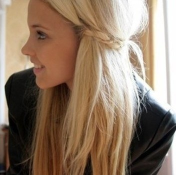 Cute Hairstyles for Straight Hair - cute hairstyles for straight hair 4