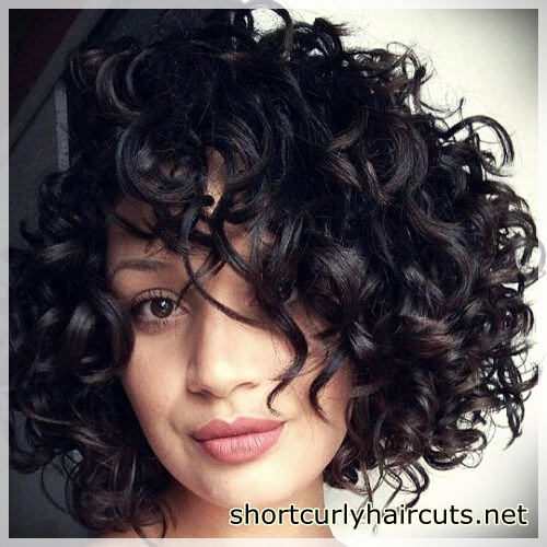 short haircuts for curly hair 6 - Suggestions of Short Haircuts For Curly Hair