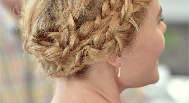 Some cute braids for short hair - braids for short hair 15