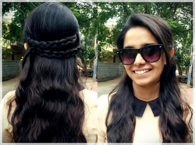 DIY: Fast and easy hairstyles - styling ideas with instructions - DIY fast and easy hairstyles 12