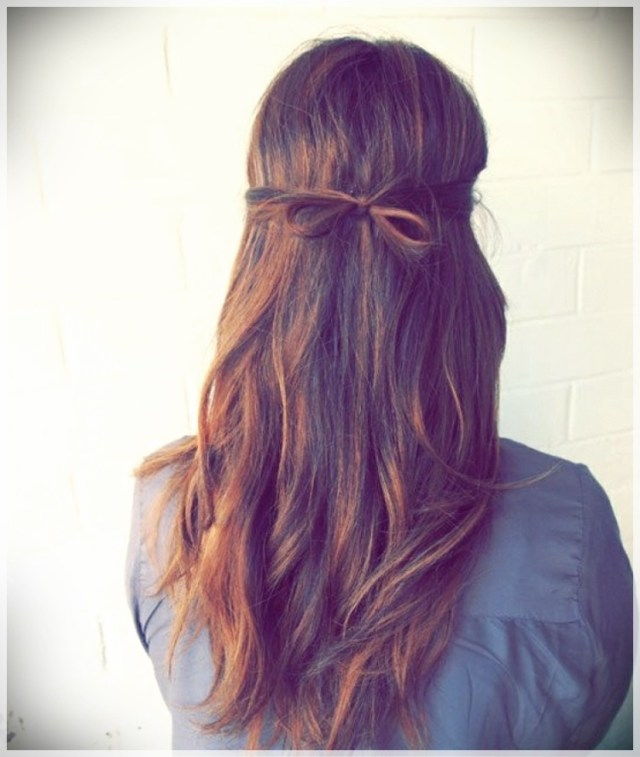 DIY: Fast and easy hairstyles - styling ideas with instructions - DIY fast and easy hairstyles 31