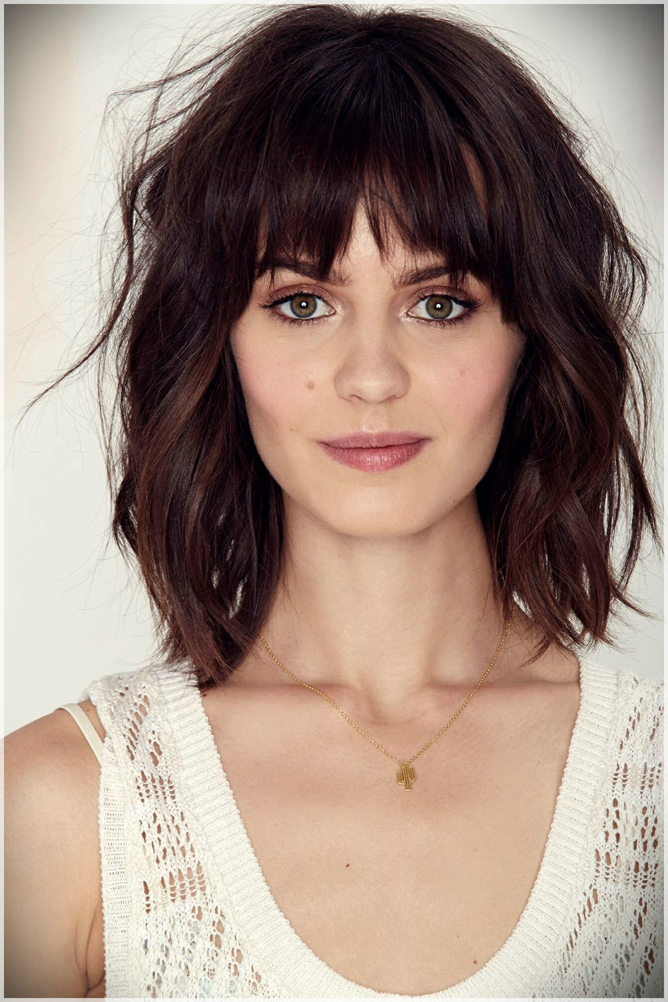 layered haircut with bangs 5 - Why getting bangs will never go out of fashion?