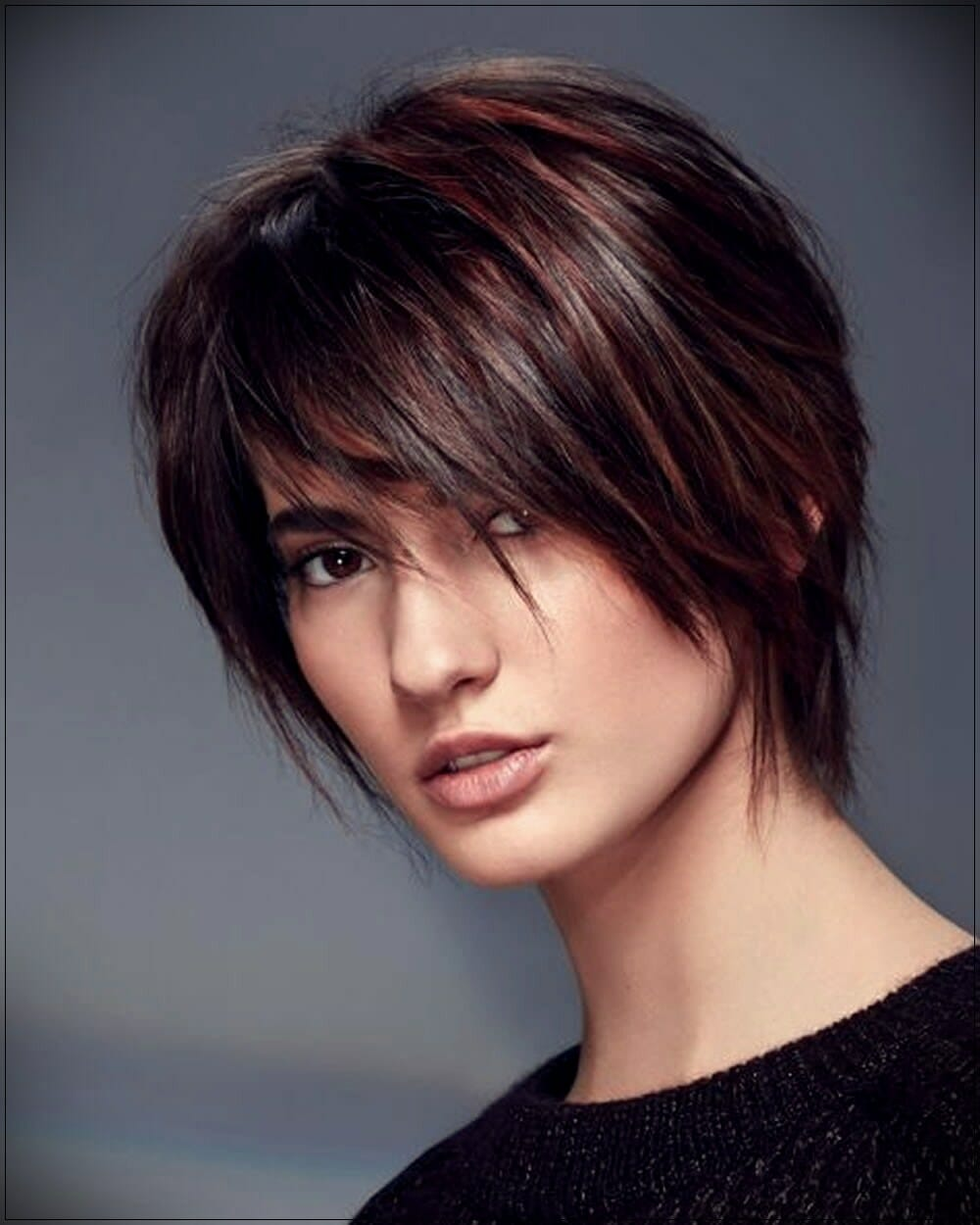 short hairstyles for round faces 8 - Correct hairstyles for your face type