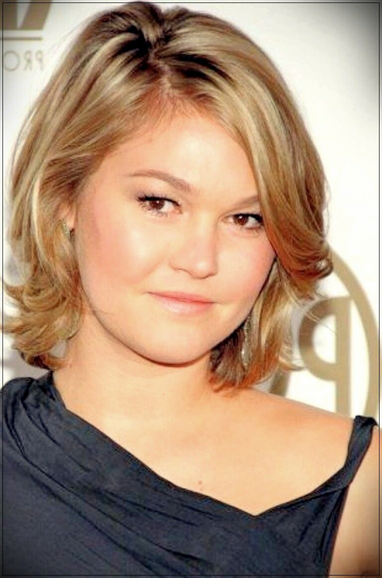 short hairstyles for round faces 9 - Correct hairstyles for your face type