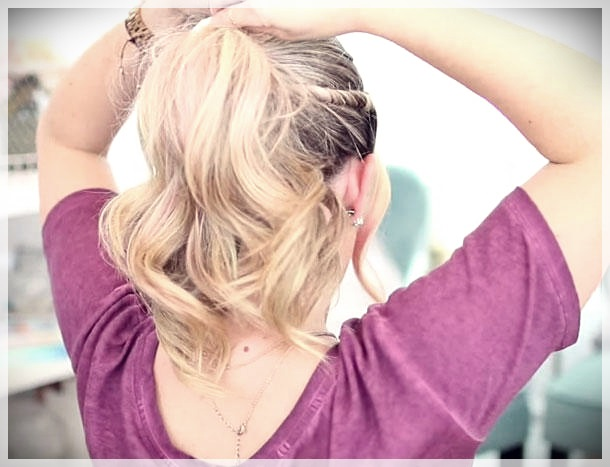 DIY: 5 Simple and Fast Hairs You can do it! - simple and fast hairs 3