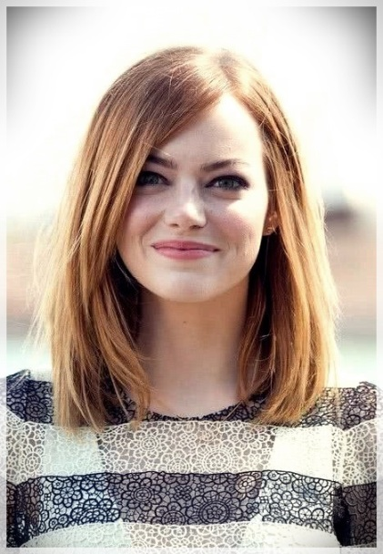 Haircuts for Round Face 2019: photos and ideas - Haircuts for Round Face 2019 23 1