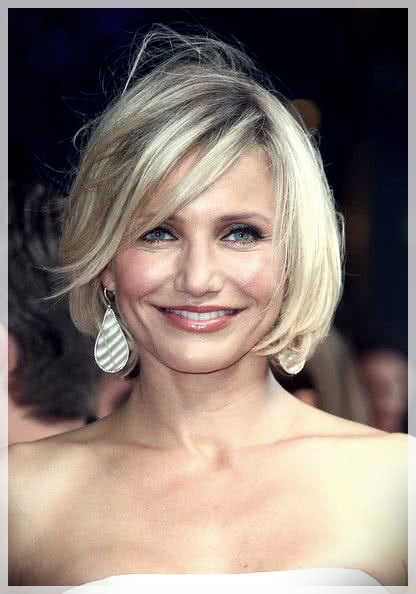 Haircuts for Round Face 2019: photos and ideas - Haircuts for Round Face 2019 46