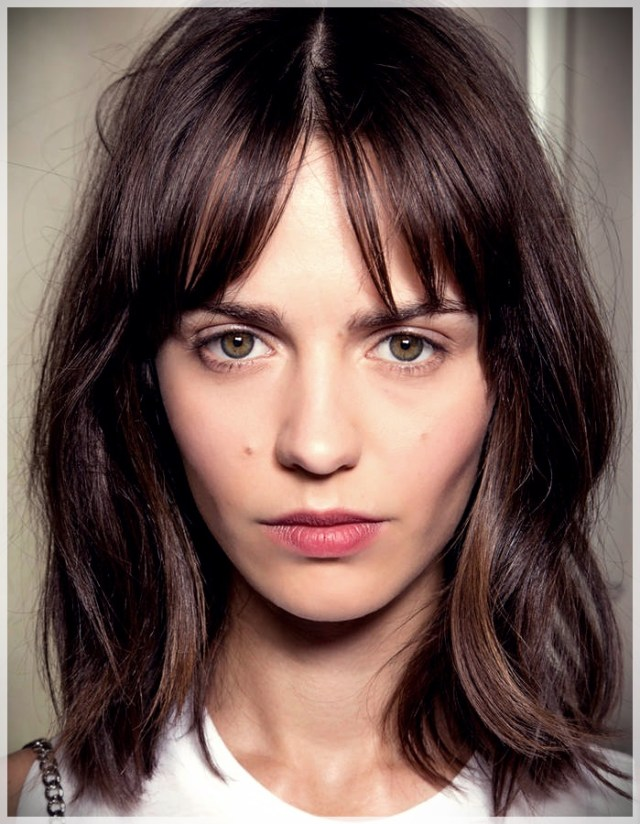 16 Hair Bangs Ideas - hair bangs ideas 2
