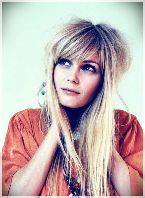 16 Hair Bangs Ideas - hair bangs ideas 7