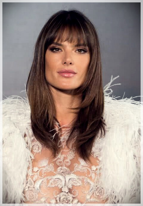 Haircuts with bangs 2019: photos and trends - Haircuts with bangs 2019 15