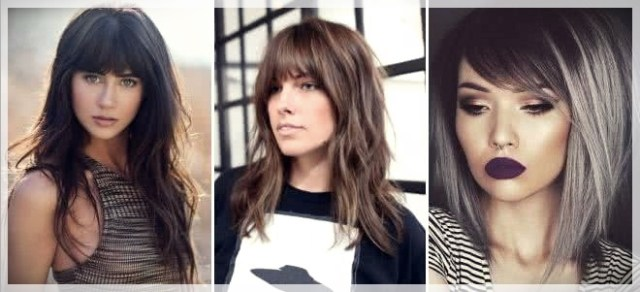 Haircuts with bangs 2019: photos and trends - Haircuts with bangs 2019 21