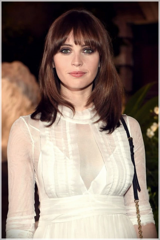 Haircuts with bangs 2019: photos and trends - Haircuts with bangs 2019 28