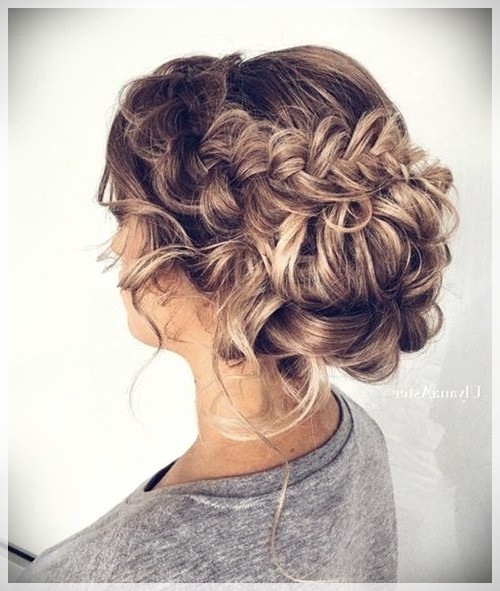 Updos 2019 fashion trends - updos 2019 14