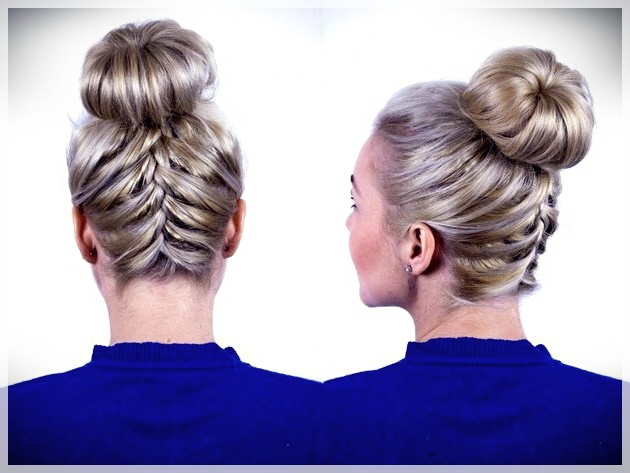 Updos 2019 fashion trends - updos 2019 17
